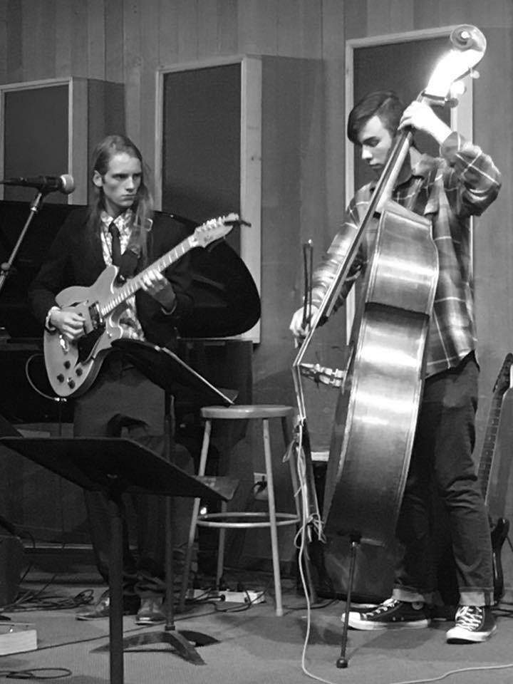 bass recital black and white